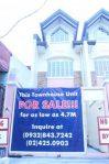 Project 3 Quezon City Townhouse for Sale