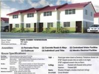 Antipolo Townhouse for Sale only P 6,133 /mo