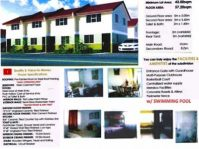 Sta. Rosa Townhouse for Sale near SLEX/Coke only P 4,999 /mo