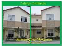 Summerfield Marquina House and Lot for Sale 2BR